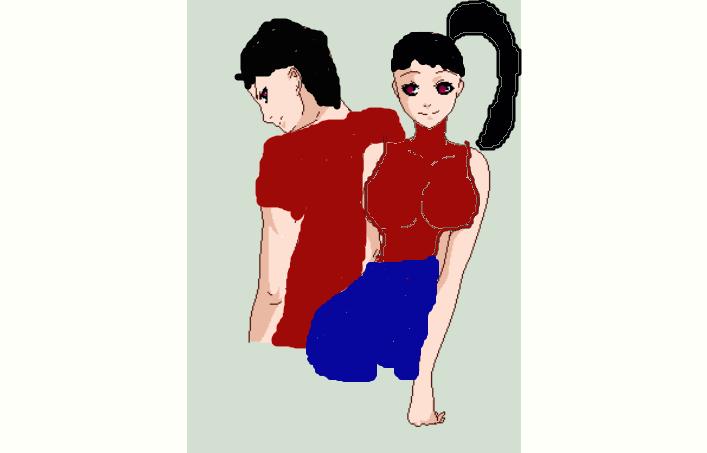 Genderbent Oc James and Jane. by Ryanth3kill3r