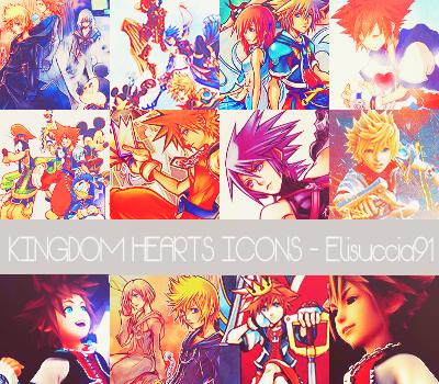 Icon Kingdom Hearts By Elisuccia91 by Elisuccia91