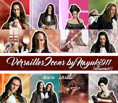 Versailles /tv series/ ICONS PACK by Elisuccia91