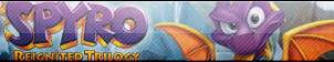 Spyro Reignited Trilogy Button by Wolfgangar