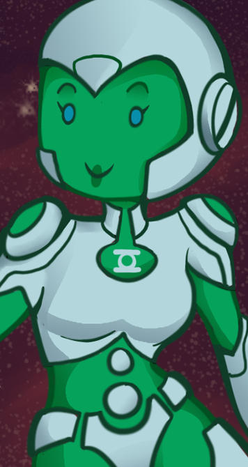 Aya The Cutest AI Ever (animated gif)