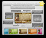 Profile Card Template PSD