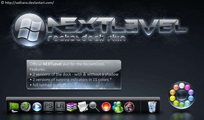 NEXTLevel RocketDock Skin