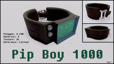 Pip Boy 1000 Concept - Download