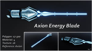 Axion Energy Blade - Download by RyuuExe