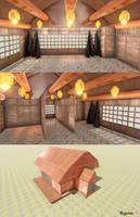 MMD Japanese Dojo Scene - Download by RyuuExe