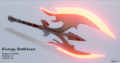 Energy Battleaxe - Download by RyuuExe