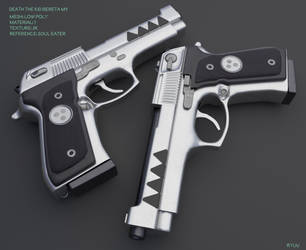 Death The Kid / Beretta m9 - Download by RyuuExe