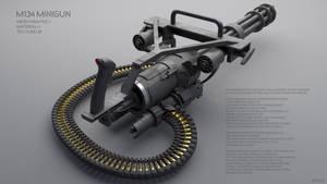 Minigun M134 - Download by RyuuExe