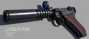 Custom Luger P08 - Download by RyuuExe