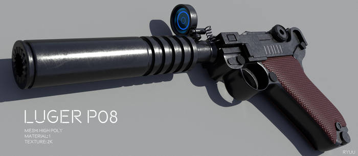 Custom Luger P08 - Download