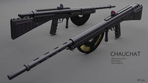 Modernized Chauchat - Download by RyuuExe