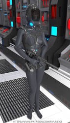 Female Scifi Suit - Download by RyuuExe