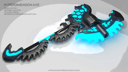 Hyperdimension Neptunia Axe - Download by RyuuExe