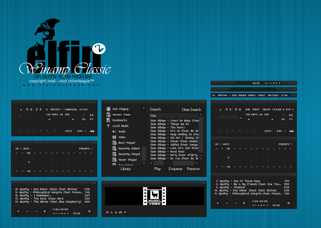 Elfin2 Winamp by maxvision