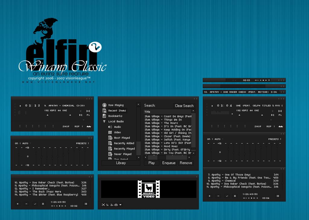 Elfin2 Winamp by maxvision