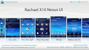 Rachael X10 NEXUS UI
