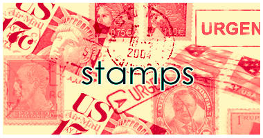 Stamps brushes by dawn-at-the-lake