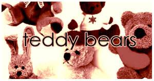 Teddy Bears brushes