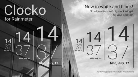 Clocko for Rainmeter (EN/PL/IT)