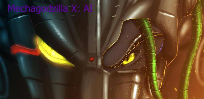 Mechagodzilla X Artificial Intelligence by Ghostwalker2061