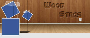 Wood Stage | Facebook Timeline Cover by j3v5k1
