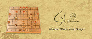 Chinese chess Icons desgin