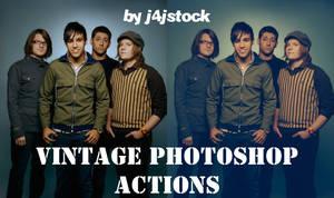 photoshop action: vintage by j4jstock