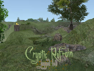 Cryptic Refrain: Jagged Isle - Feral Heart Map by ZombieKitteh