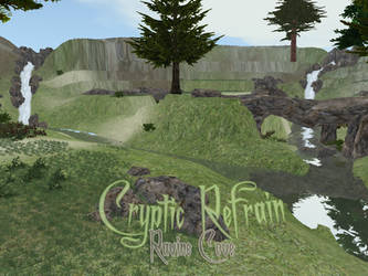 Cryptic Refrain: Ravine Cove - Feral Heart Map by ZombieKitteh