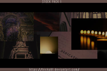 Stock Pack #1 by Hicka01