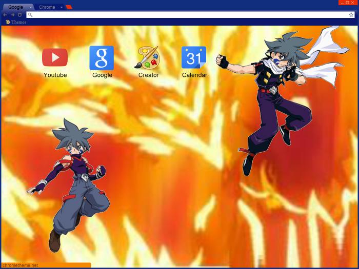 Kai Hiwatari Google Theme by pinklilac2