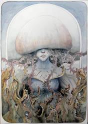 Medusa woman