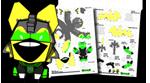 STRAY LANTERN papertoy V03 by EsseDue