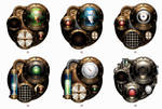 Steampunk Iconset Engines