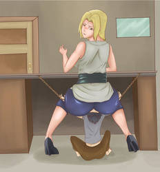 Tsunade Fart Slave Animation by theloner22