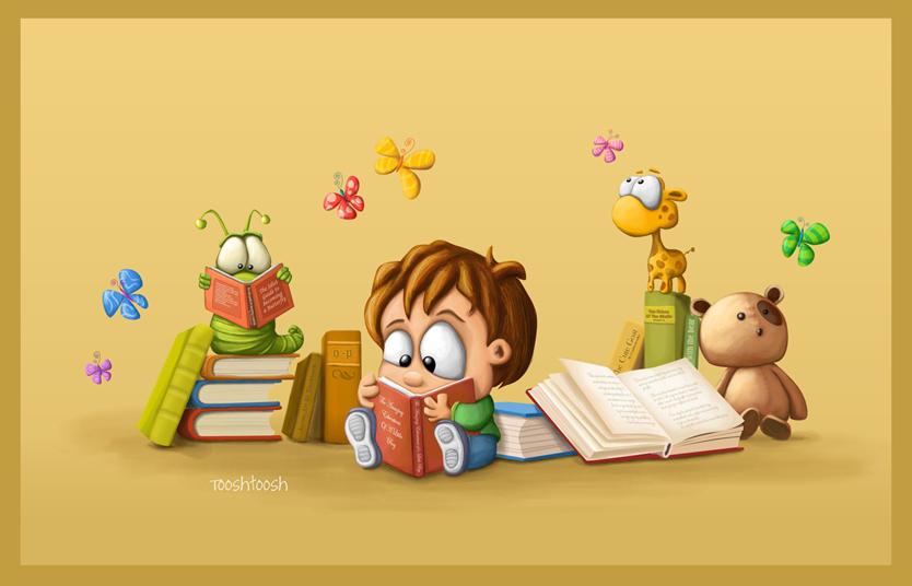 Book nosing by Tooshtoosh