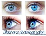 Bluer Eyes Photoshop Action