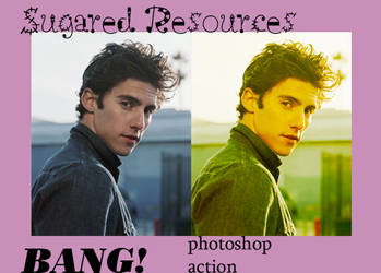BANG? . PHOTOSHOP ACTION by sugaredheart