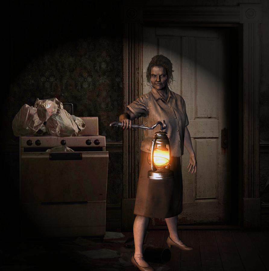 Resident Evil 7: Marguerite Baker 2.0 by ItalianUtent