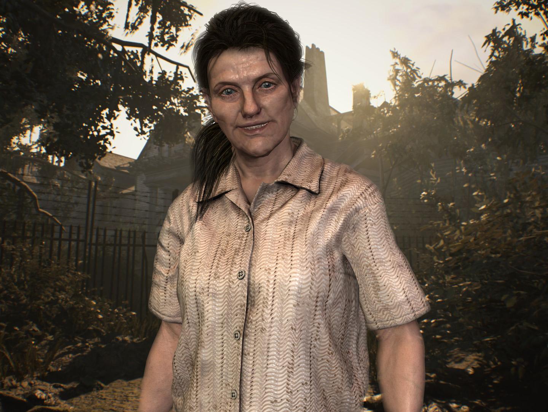 Resident Evil 7 Marguerite Baker Human By Italianutent On Deviantart