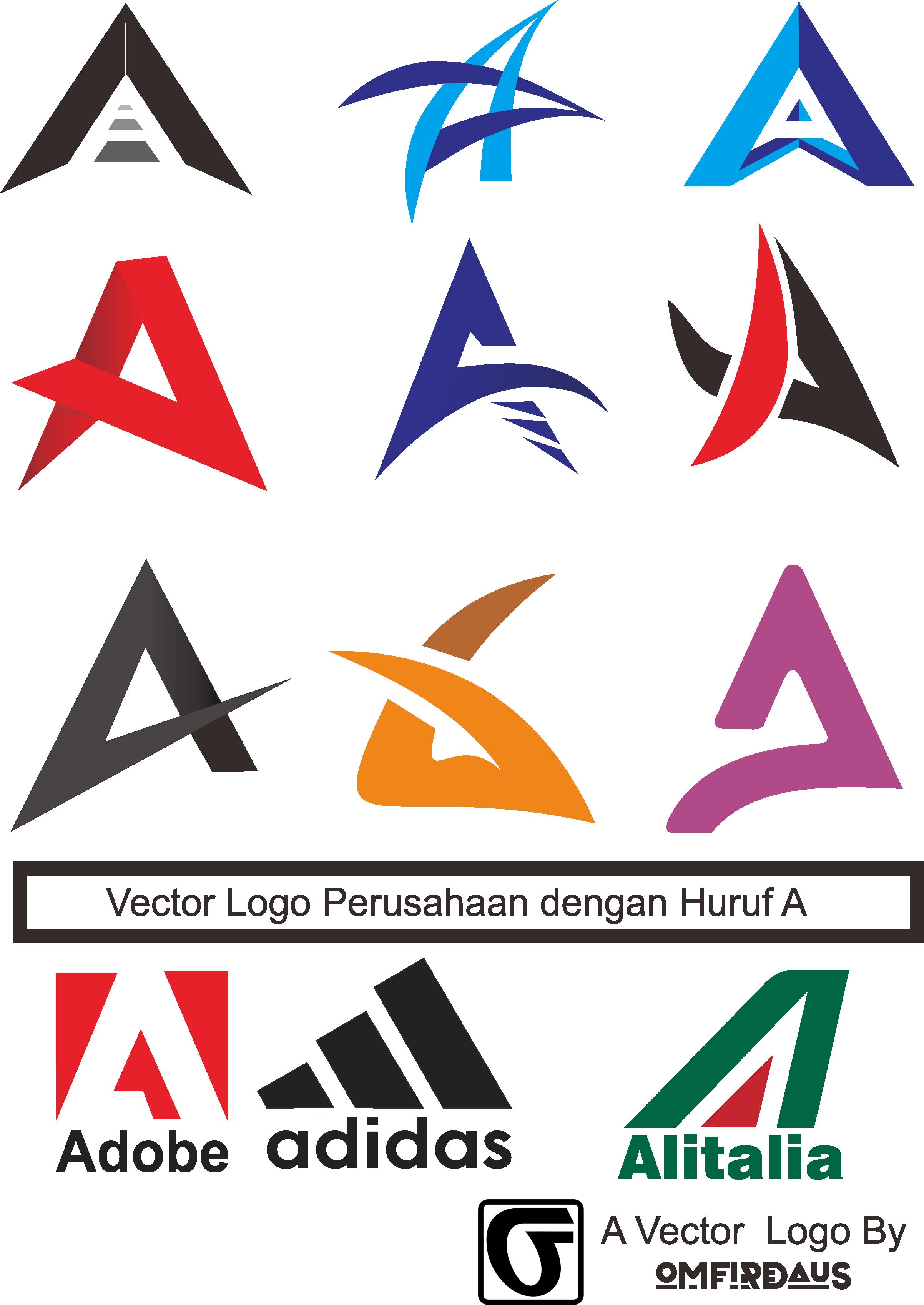 72+ Foto Desain Logo Huruf Terbaik Untuk Di Contoh