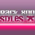 Pack 8OO Estilos