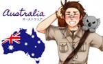 Hetalia: Australia fan Wallpaper