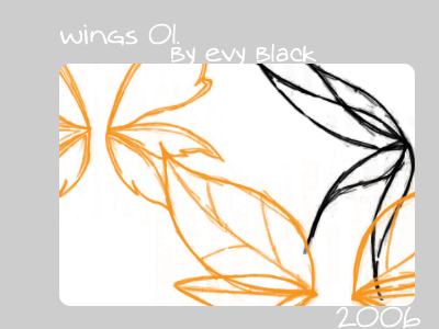 Wings o1. by evyblack