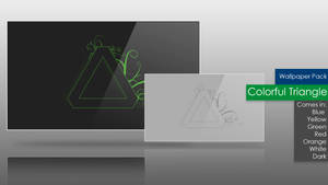 Colorful Triangle : Wallpaper Pack by wineass