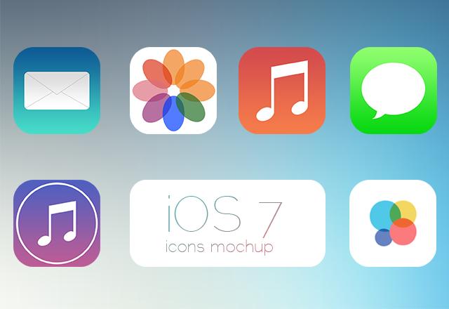 iOS7 Icons v1.2