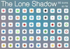 Lone Shadow :: IconPack V4 :: 85 ICONS