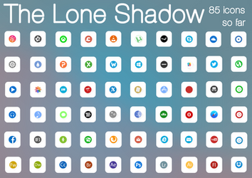Lone Shadow :: IconPack V4 :: 85 ICONS by wineass