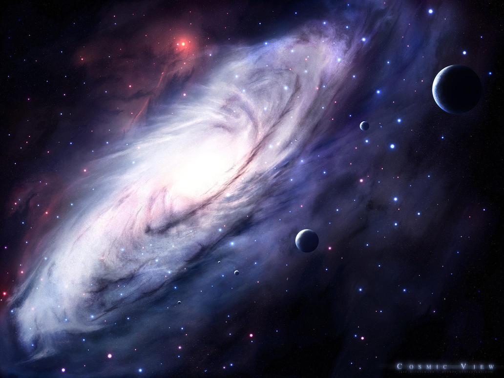 Cosmic View by gucken